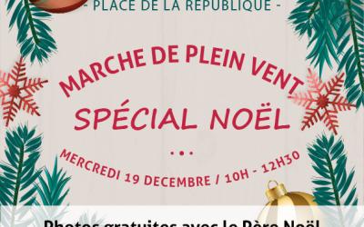 #Noël au marché de plein vent