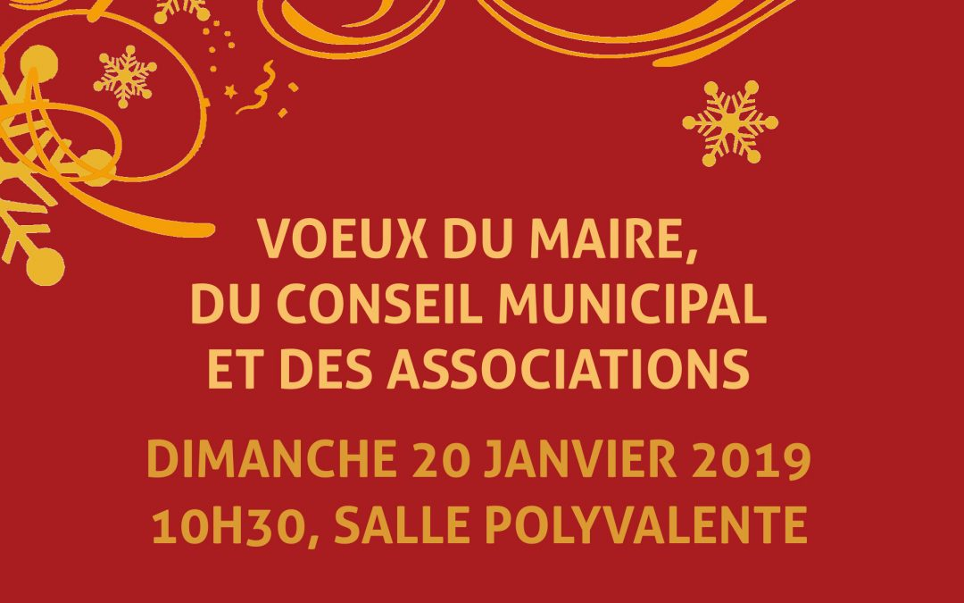 #Vœux de la municipalité et des associations