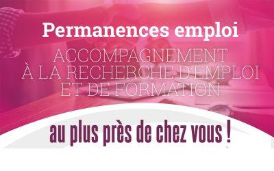 #Permanences emploi