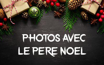 #Photos avec le Père Noël disponibles