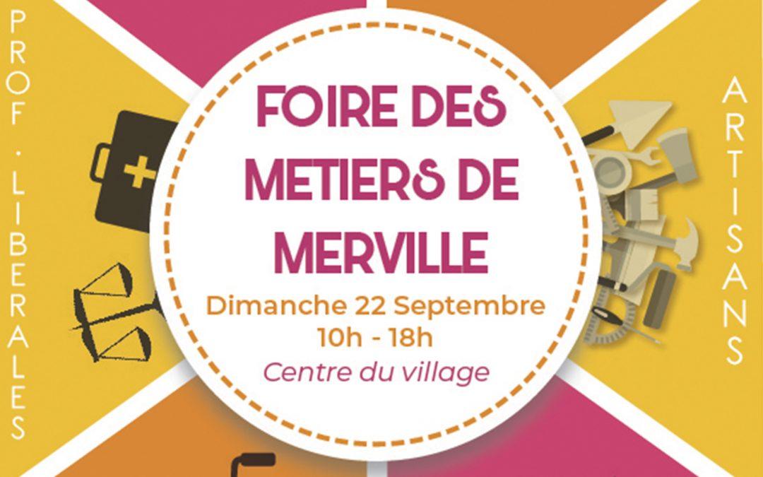 #Foire des Métiers mervilloise 2019 –  inscriptions