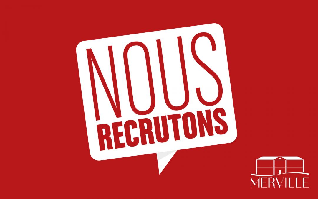 #Recrutement