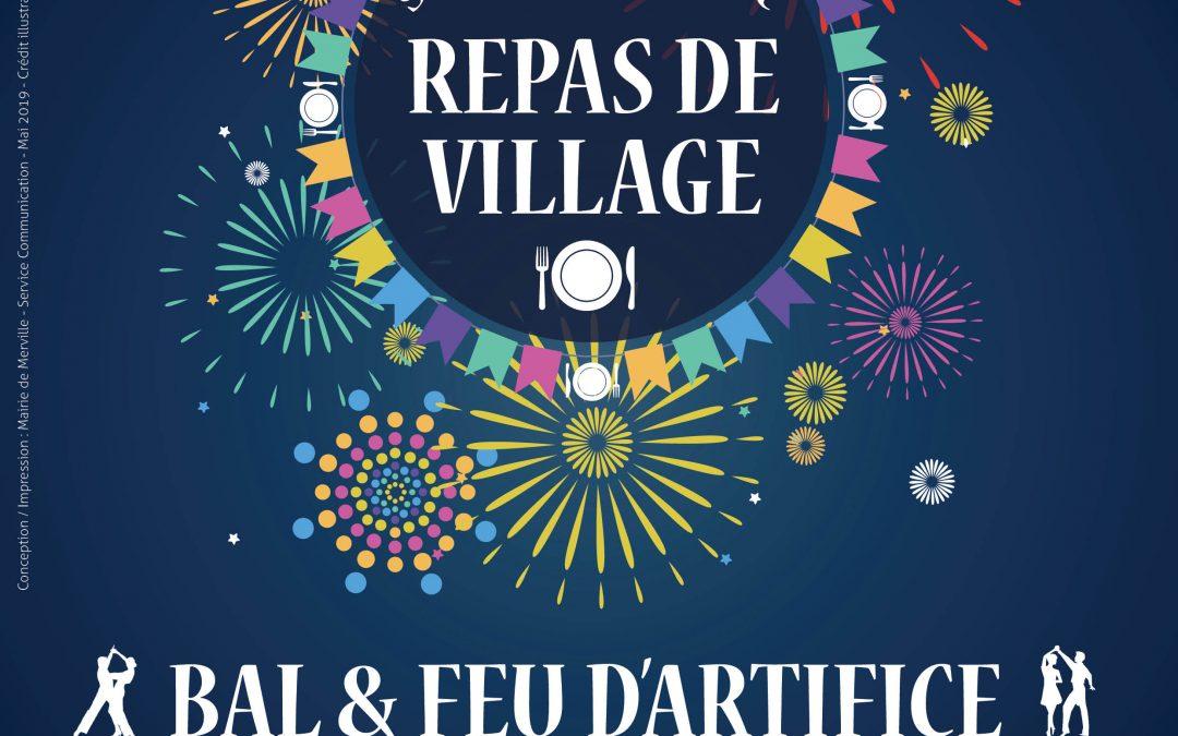 #Repas de Village et festivités de la Fête Nationale