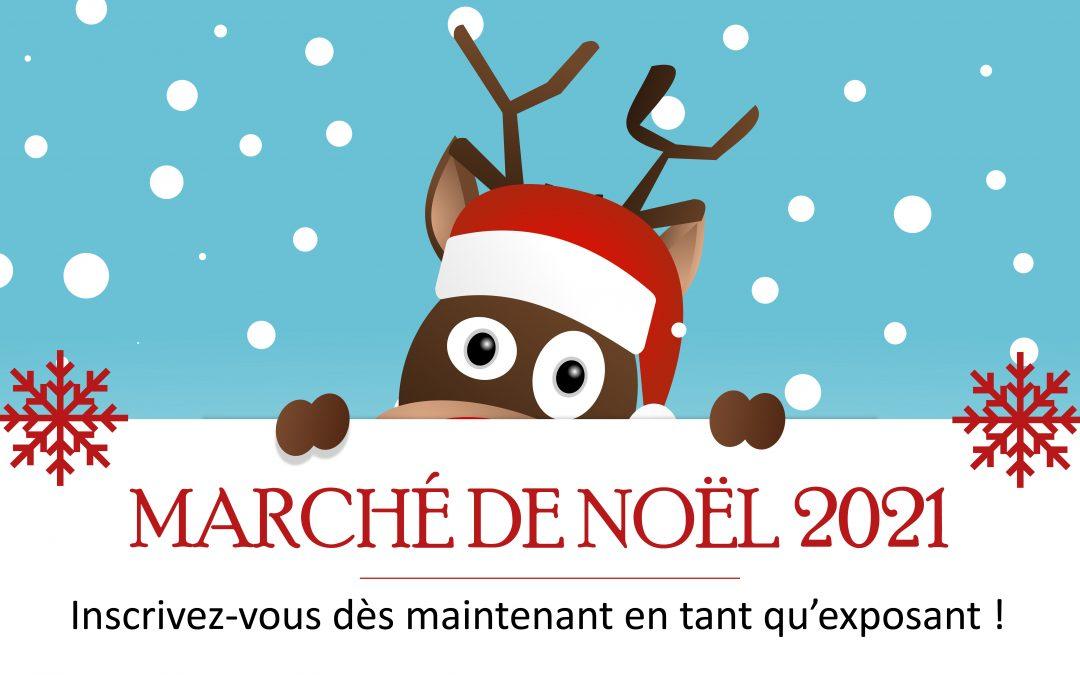 #Inscriptions Marché de Noël 2021