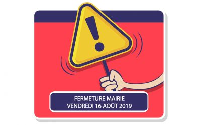 #Fermeture Mairie de Merville