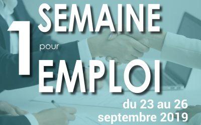 #Semaine pour l'emploi