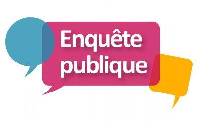 #Enquête publique