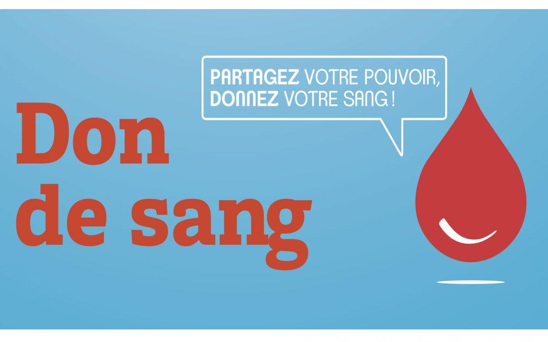 #Don du sang