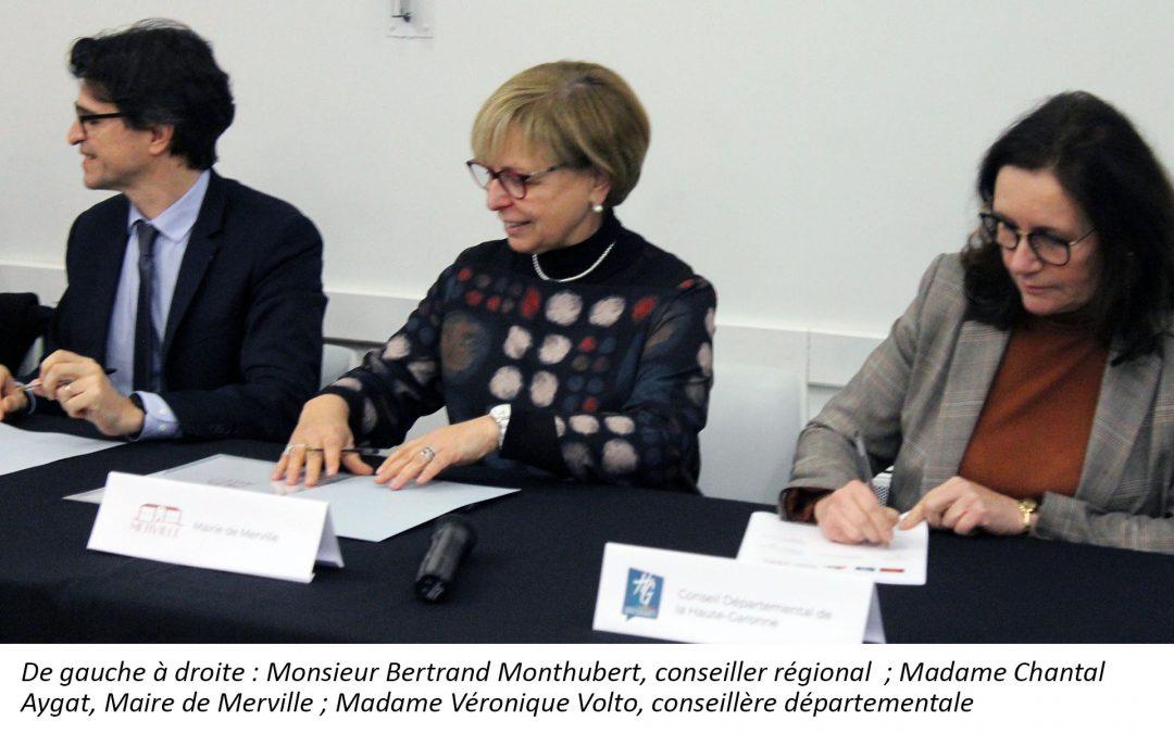 #Signature du Contrat Bourg-Centres