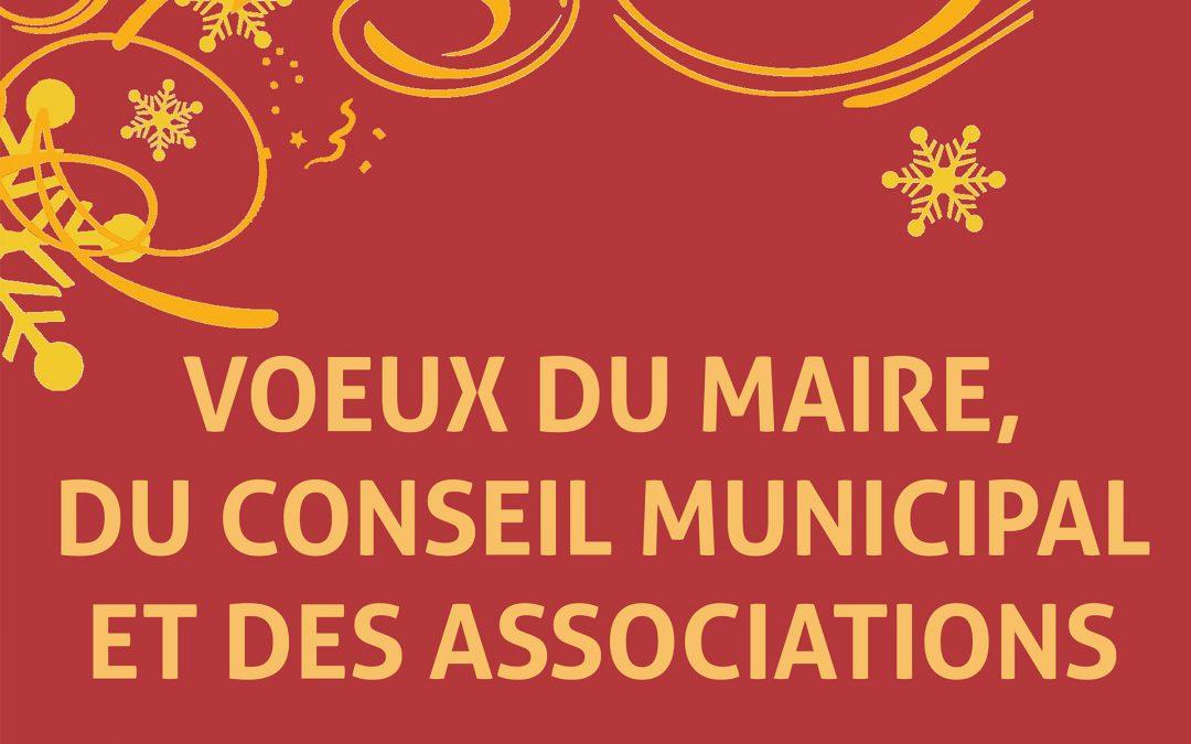 Vœux de la Municipalité et des Associations