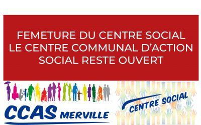 #Fermeture du Centre social