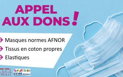 #APPEL AUX DONS