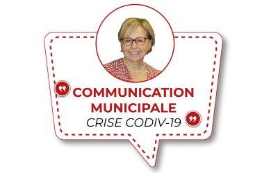 #Communication municipale – crise Covid-19