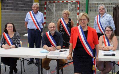 #Installation du nouveau Conseil Municipal