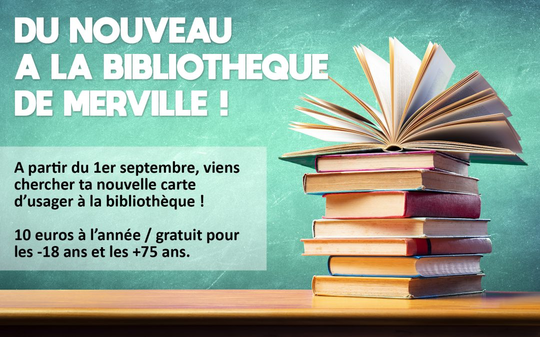 #Du nouveau à la Bibliothèque !