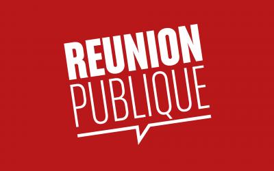 #Réunion publique