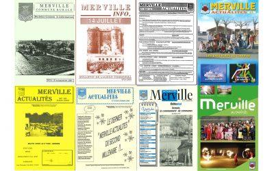 #L'histoire de Merville au fil de ses bulletins municipaux