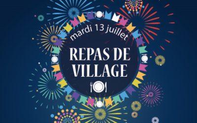 #Repas de village – circulation et sationnement