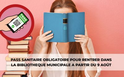 #Bibliothèque – pass sanitaire