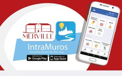 #Merville sur l'application IntraMuros