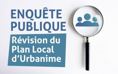 #Enquête publique révision PLU